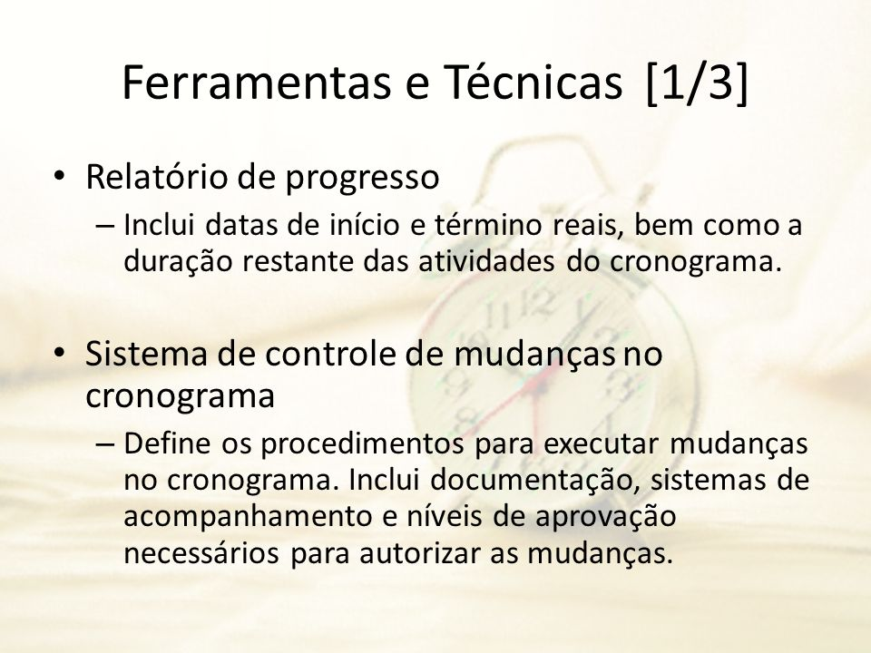 Ferramentas e Técnicas [1/3]